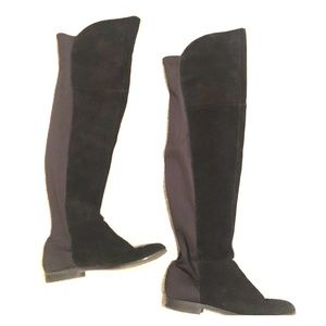 Chinese Laundry Faux Suede Over the Knees Boots